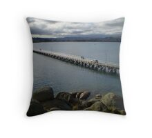 Victor Harbour Throw Pillow
