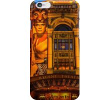 Regent Theatre Melbourne and the Lion King iPhone Case/Skin