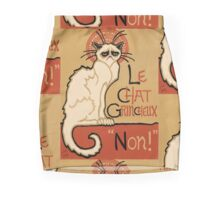 Le Chat Grincheux Mini Skirt