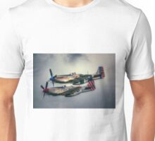 North American P-51 Mustangs Unisex T-Shirt