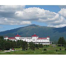 Mount Washington Hotel, Mount Washington Photographic Print