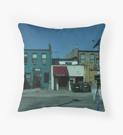 Back and Front Throw Pillow
