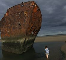 The Boy And The Wreck by Munich