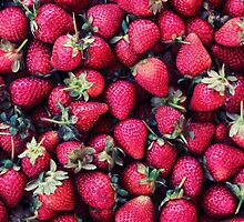 Summer Strawberries by micklyn