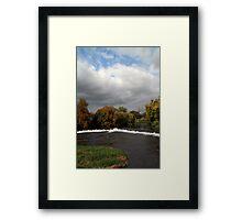 The Weir at Cahir Framed Print