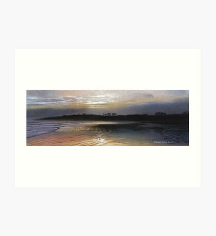 Alnmouth Beach, Northumberland Art Print