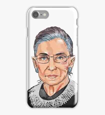 Supreme Court Justice Ruth Bader Ginsburg iPhone Case/Skin