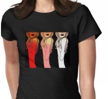 Favorite Sins - Anger, Sloth & Pride Womens Fitted T-Shirt