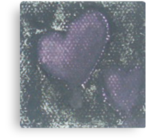 Shadow Hearts Canvas Print