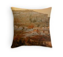 Sunrise, Bryce Canyon National Park Throw Pillow