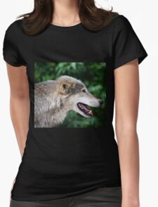 The lone hunter Womens Fitted T-Shirt