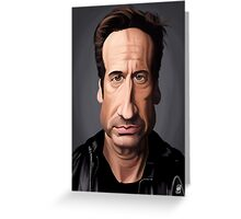 Celebrity Sunday - David Duchovny Greeting Card