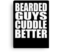 Funny Beard  Canvas Print