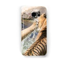 Playing in the pond Samsung Galaxy Case/Skin
