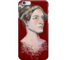 Ada Lovelace - The First Computer Programmer iPhone Case/Skin