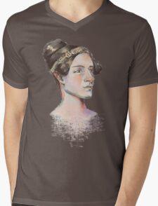 Ada Lovelace - The First Computer Programmer Mens V-Neck T-Shirt