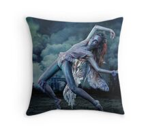 """COPENHAGEN or """"The end of fairytales"""" I Throw Pillow"""
