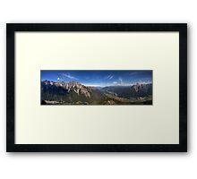 mountains mountains mountains Framed Print