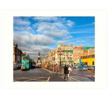 Dublin Stroll - O'Connell Street Art Print