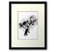 Deer God (Save Us) - Part 4 - Final Inks Framed Print