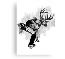 Deer God (Save Us) - Part 4 - Final Inks Metal Print