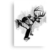 Deer God (Save Us) - Part 4 - Final Inks Canvas Print