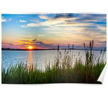 Savannah River Sunrise Poster