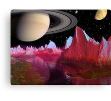 Iapetus Canvas Print