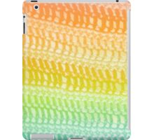yarns rainbow iPad Case/Skin