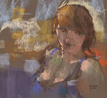 quick study of Molly by djones