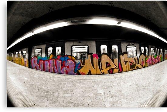 Rome Metro by thephotosnapper