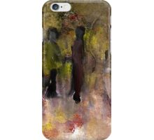 Two Friends in the Park iPhone Case/Skin