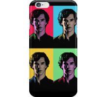 Benedict Cumberbatch Pop Art  iPhone Case/Skin