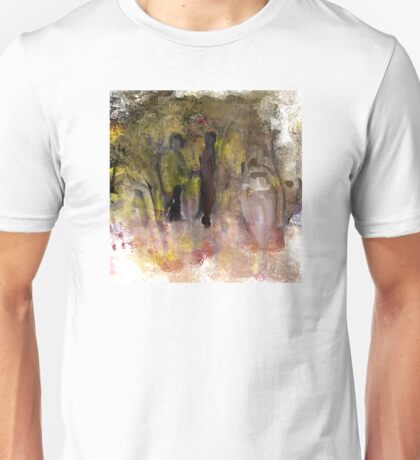 Two Friends in the Park Unisex T-Shirt