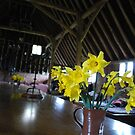 Flowers in the Barn by daniellesalmon