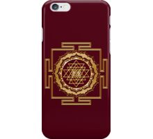 Shri Yantra - Cosmic Conductor of Energy iPhone Case/Skin