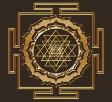 Shri Yantra - Cosmic Conductor of Energy T-Shirt