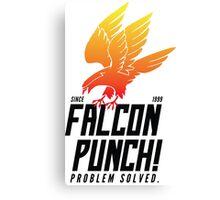 Falcon Punch! Canvas Print
