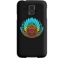 Mayan mask, crop circle, Quetzalcoatl Samsung Galaxy Case/Skin