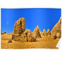 Pinnacles - Nambung National Park Poster