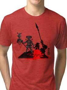 The Game of Kings, Wave Eight: The Black Queen's Pawn Tri-blend T-Shirt