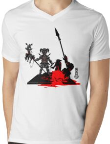 The Game of Kings, Wave Eight: The Black Queen's Pawn Mens V-Neck T-Shirt