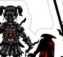 The Game of Kings, Wave Eight: The Black Queen's Pawn Sticker