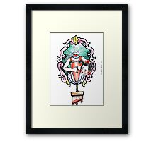 Madame Guillotine Framed Print