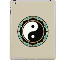Yin Yang Lotus iPad Case/Skin