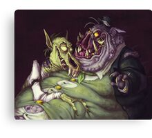 Monster Men Canvas Print