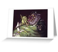 Monster Men Greeting Card