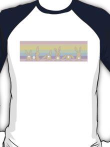 Pastel Bunny Rainbow  T-Shirt