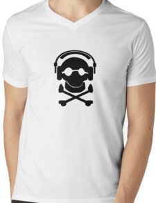 Death by stereo Mens V-Neck T-Shirt