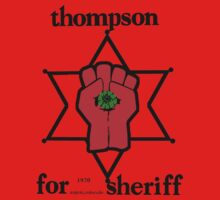 Thompson for Sheriff 2 One Piece - Long Sleeve
